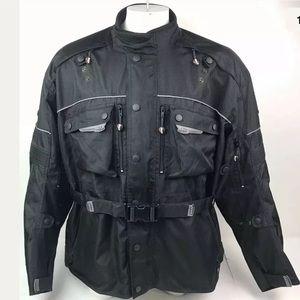 Bilt Motorcycle Jacket Mens 4XL w Pads